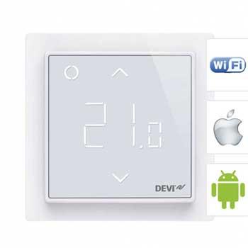 DEVIreg Smart интеллектуальный терморегулятор для теплого пола с Wi-Fi